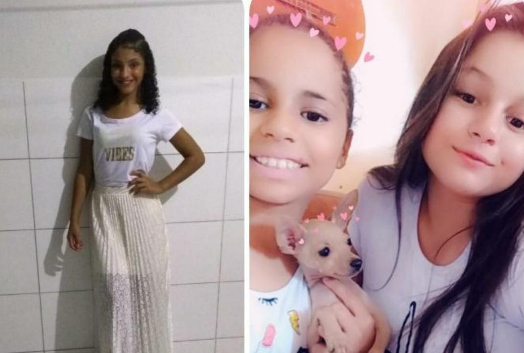 famílias procuram por três meninas de 10 11 e 12 anos que sumiram